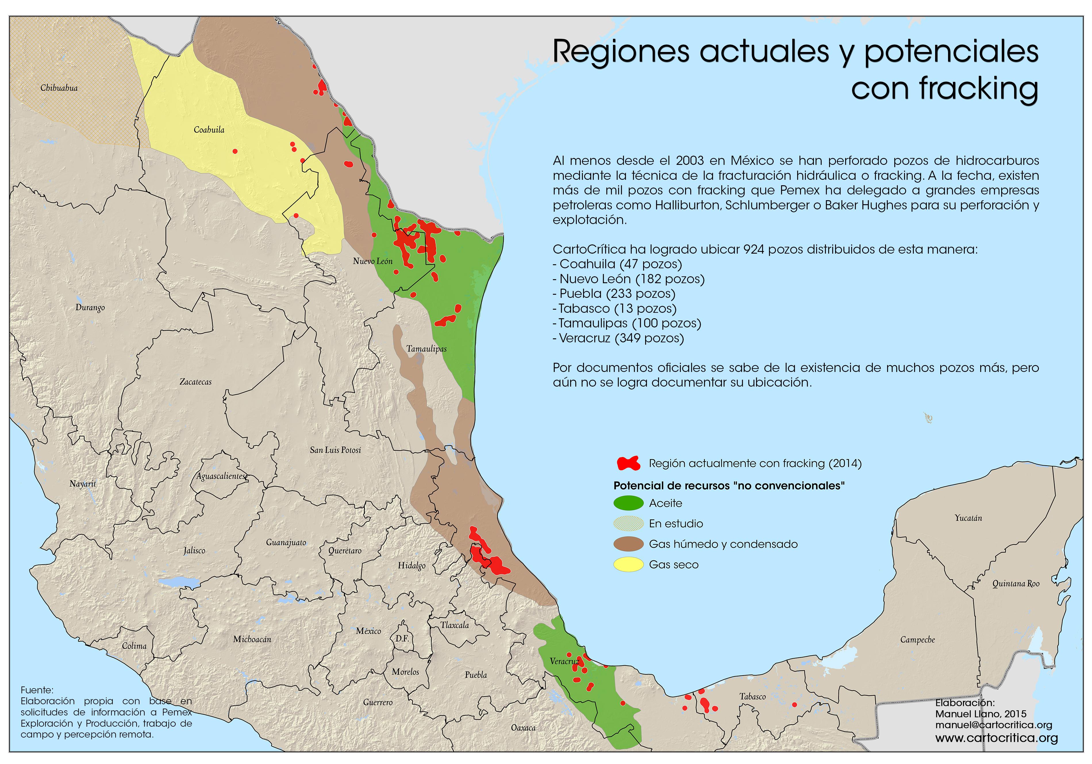 Explosión de fracking en México, apenas el comienzo